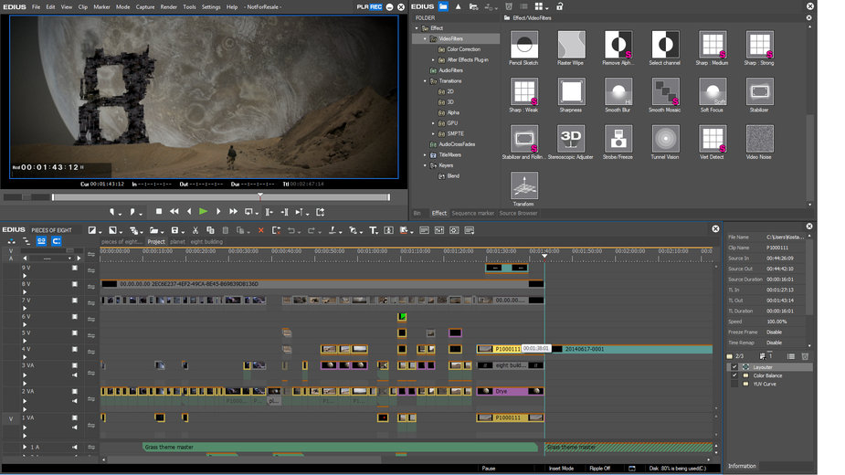 Unlimited Multi-layer Editing