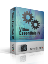 NewBlueFX Video Essentials IV